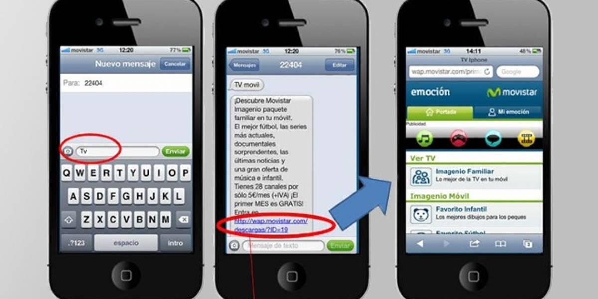 Movistar Imagenio móvil llega a los dispositivos iOs
