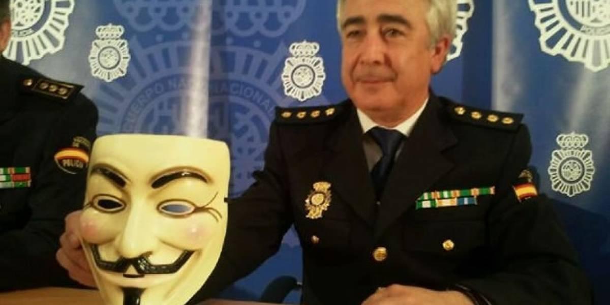 España: Detención de miembros de Anonymous agita la Red