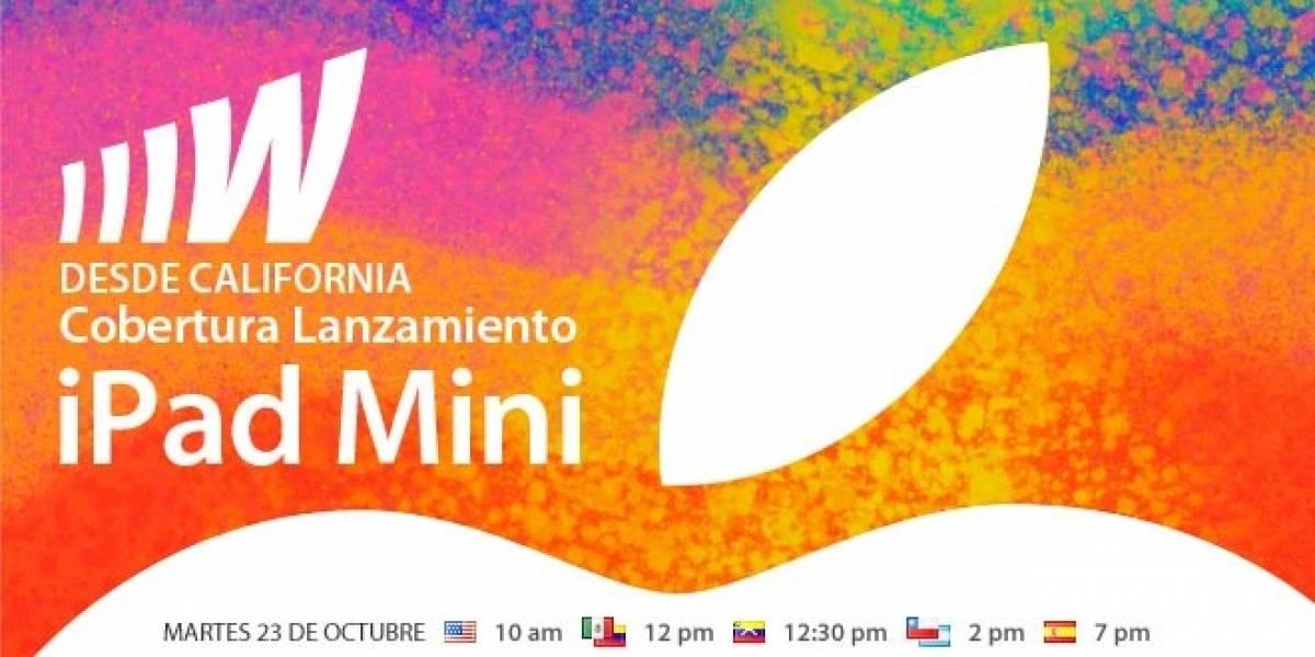 Esta semana se lanza el iPad Mini, y nosotros estaremos ahí para contarte todo
