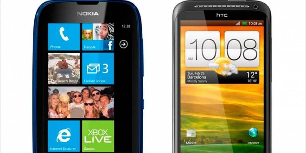 Chile: Entel pondrá a la venta el HTC One X y el Lumia 610