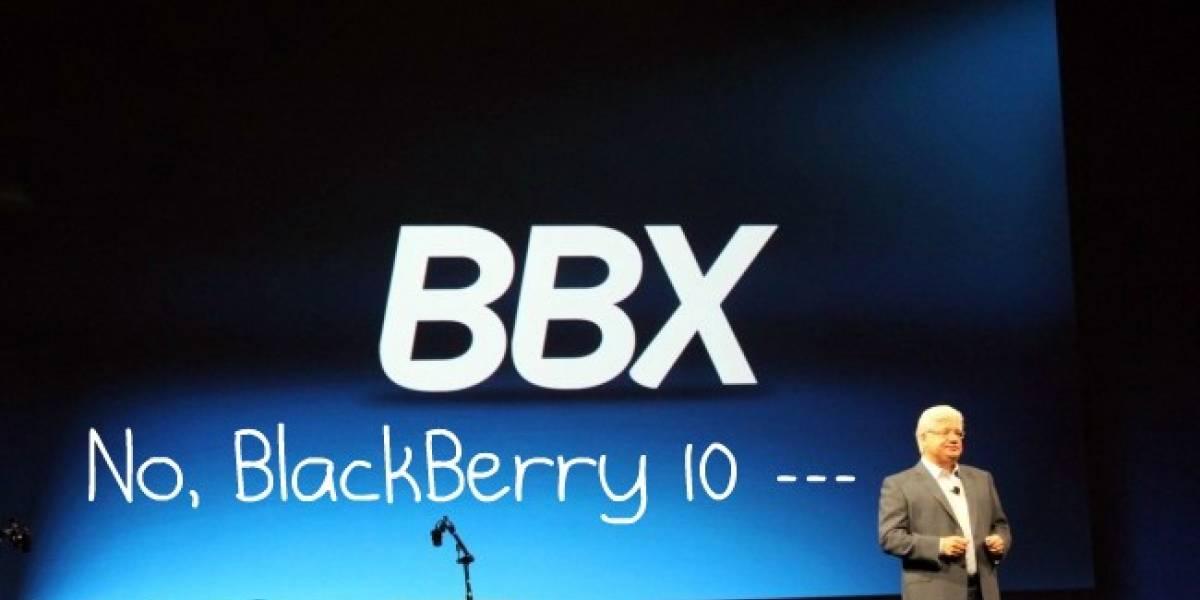 RIM se ve obligada a renombrar su nuevo Sistema Operativo como BlackBerry 10