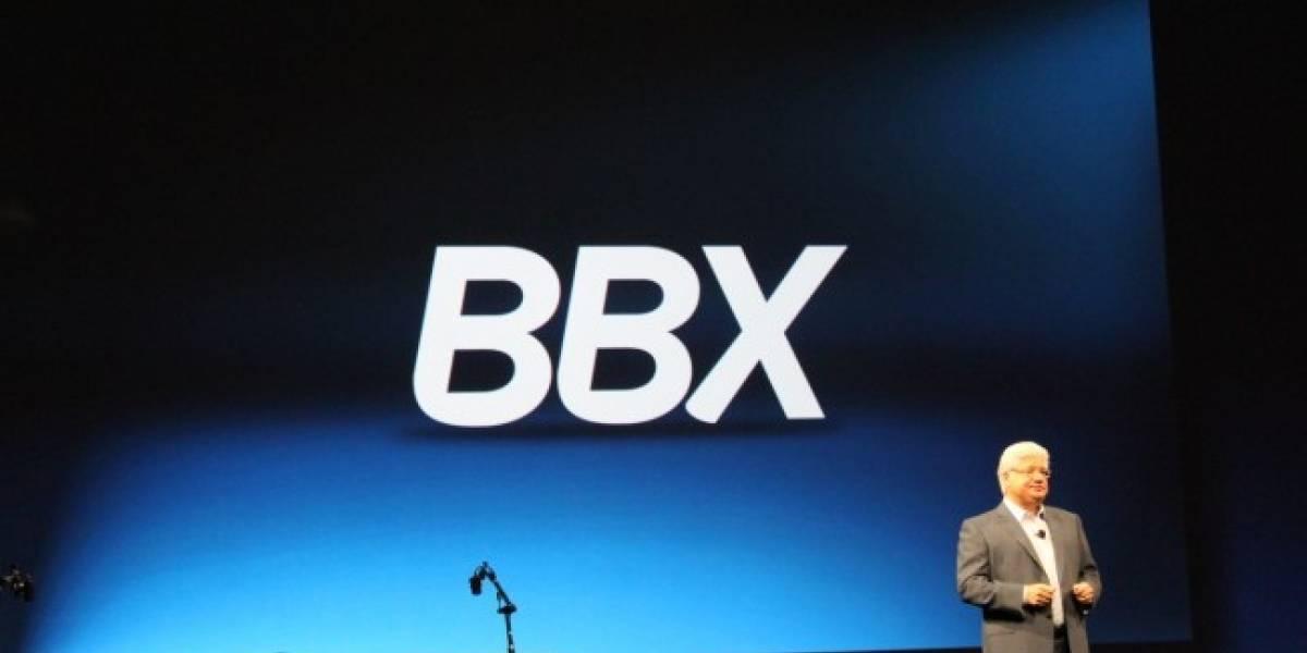 BBX, la nueva plataforma para BlackBerry fue presentada hoy