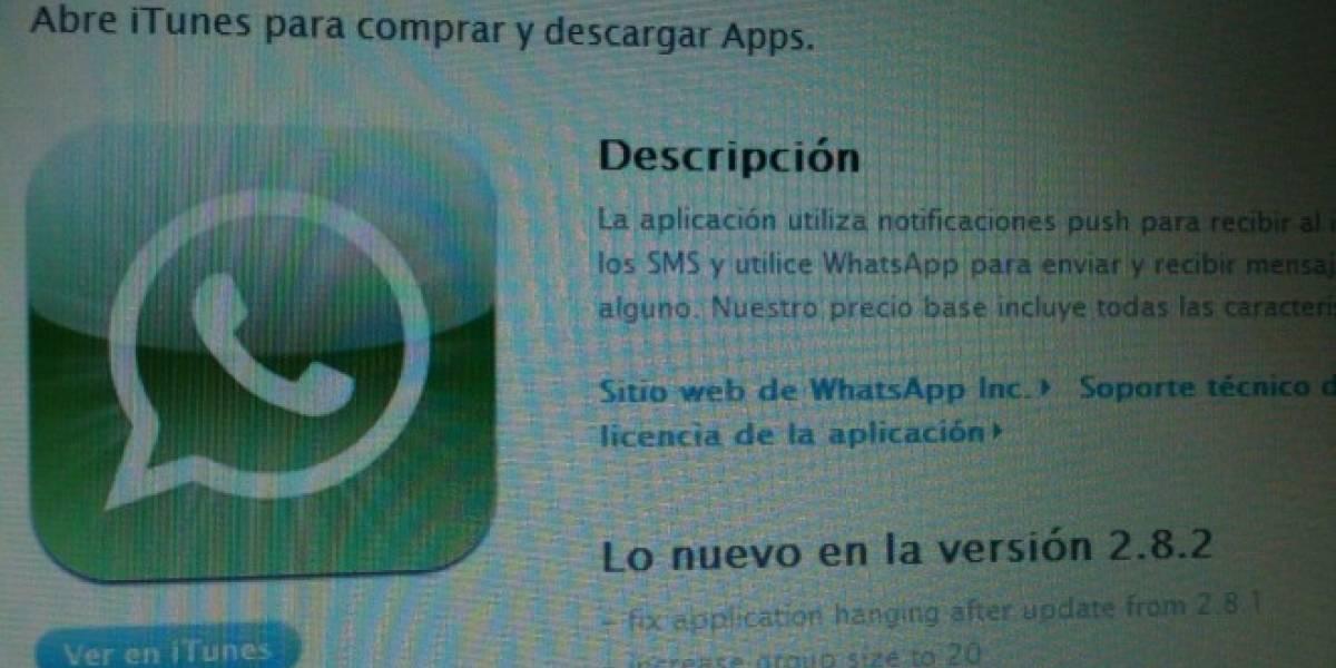 WhatsApp para iPhone vuelve a ser gratis por tiempo limitado