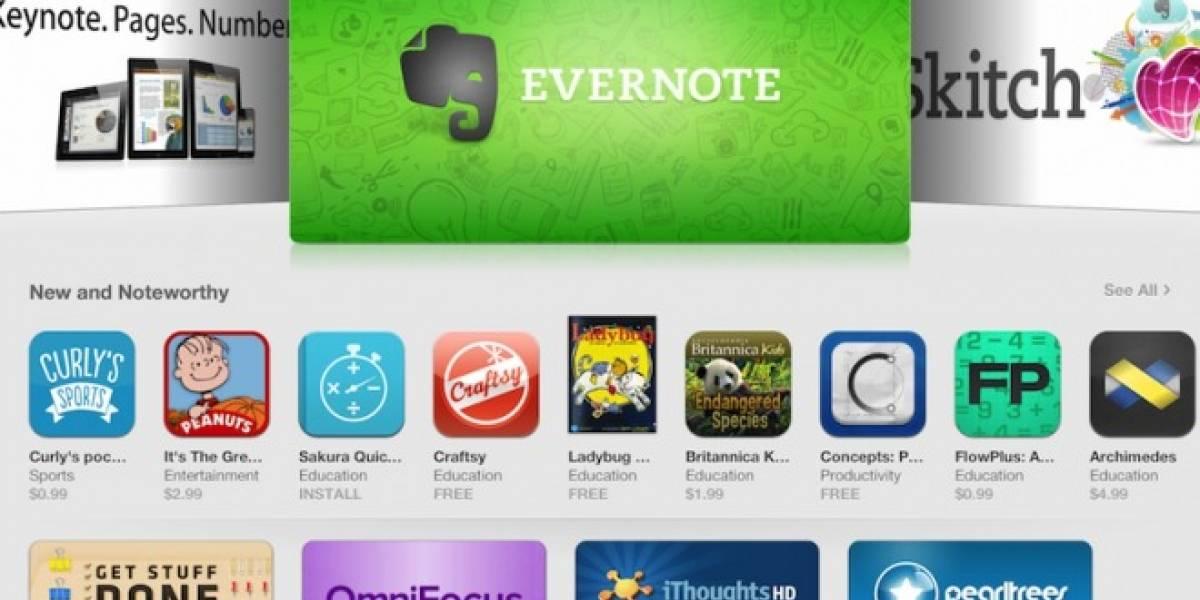 Apple integra aplicaciones destacadas por categoría en la App Store