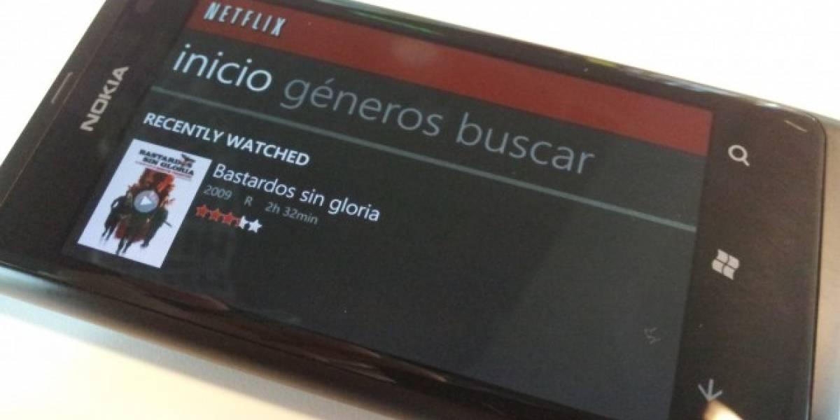 Netflix para Windows Phone llega a su versión 2.0, entregando soporte a Latinoamérica