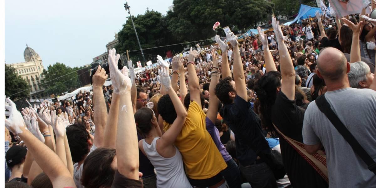 España: #bcnsinmiedo reactiva el 15-M