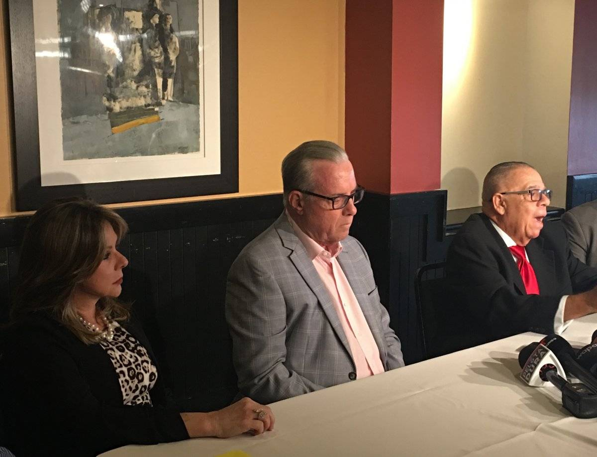De izquierda a derecha, la licenciada Yazmin Nadal, directora ejecutiva PRADA; Carlos Vaillant, presidente PRADA; y Gerardo Pascual, tesorero de PRADA. / Suministrada