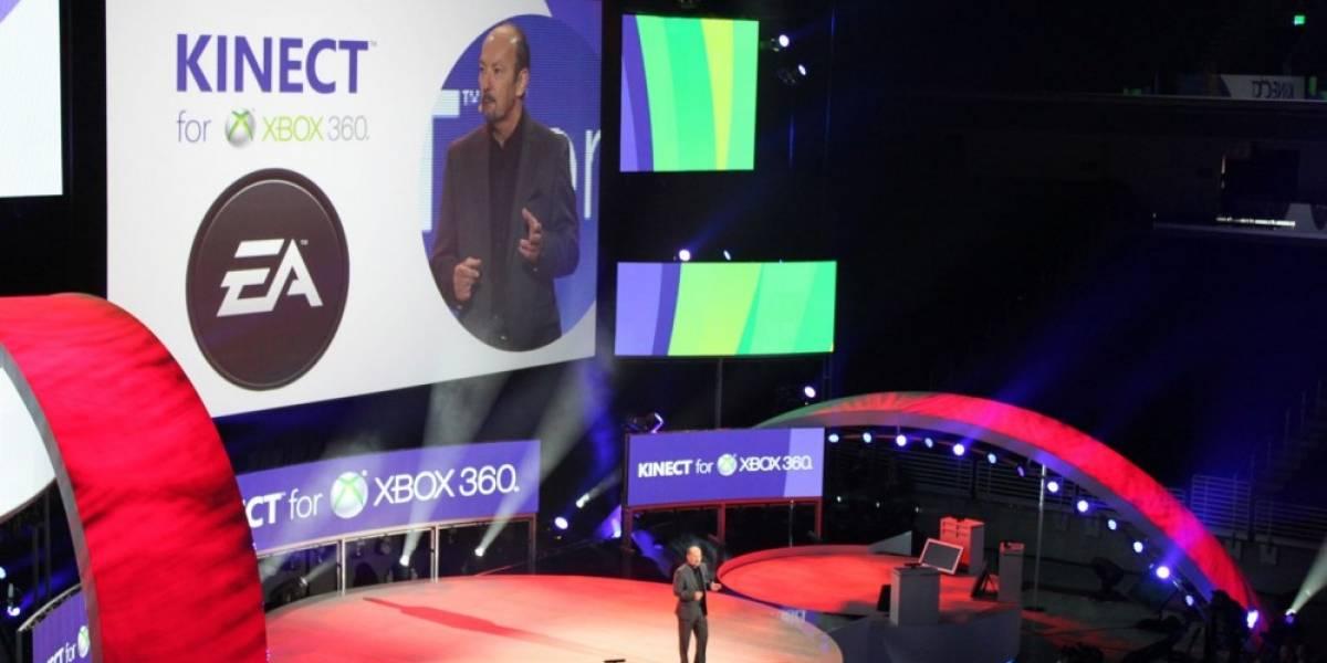 EA Sports tendrán cuatro juegos con soporte para Kinect [E3 2011]