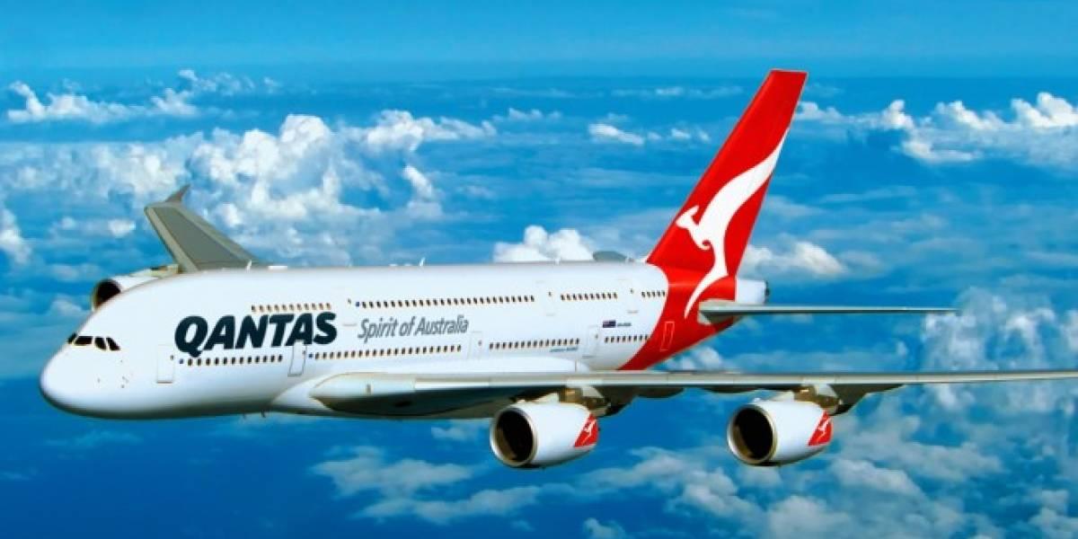 Australia: Qantas ofrecerá conexión Wi-Fi en sus vuelos a Estados Unidos