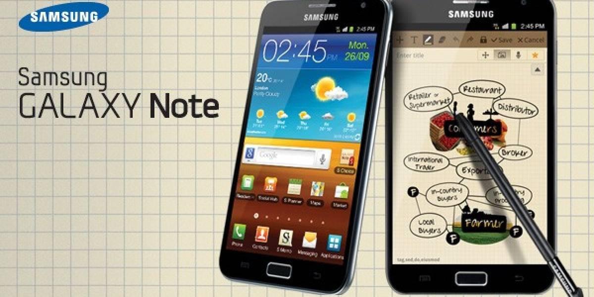Según diario coreano la Galaxy Note II tendría una pantalla OLED flexible