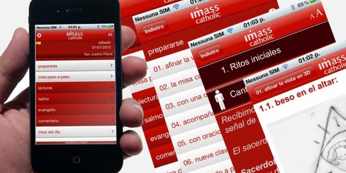 Un sacerdote español lanza iMisa: Una aplicación para orar virtualmente