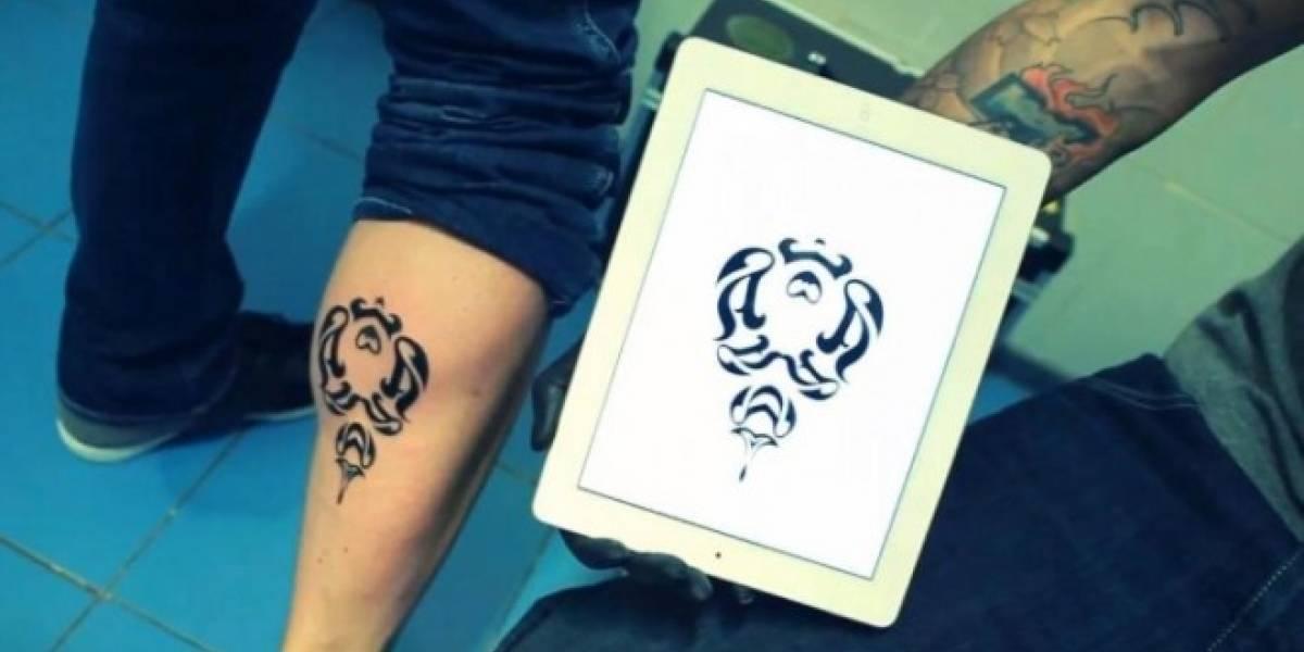 Instattoo: la aplicación que crea tatuajes con tu iPhone y iPad