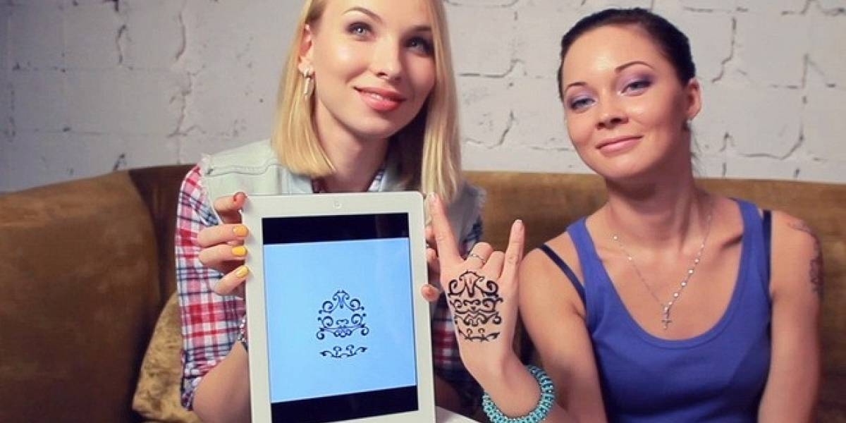 Diséñate un tatuaje con tu iPad