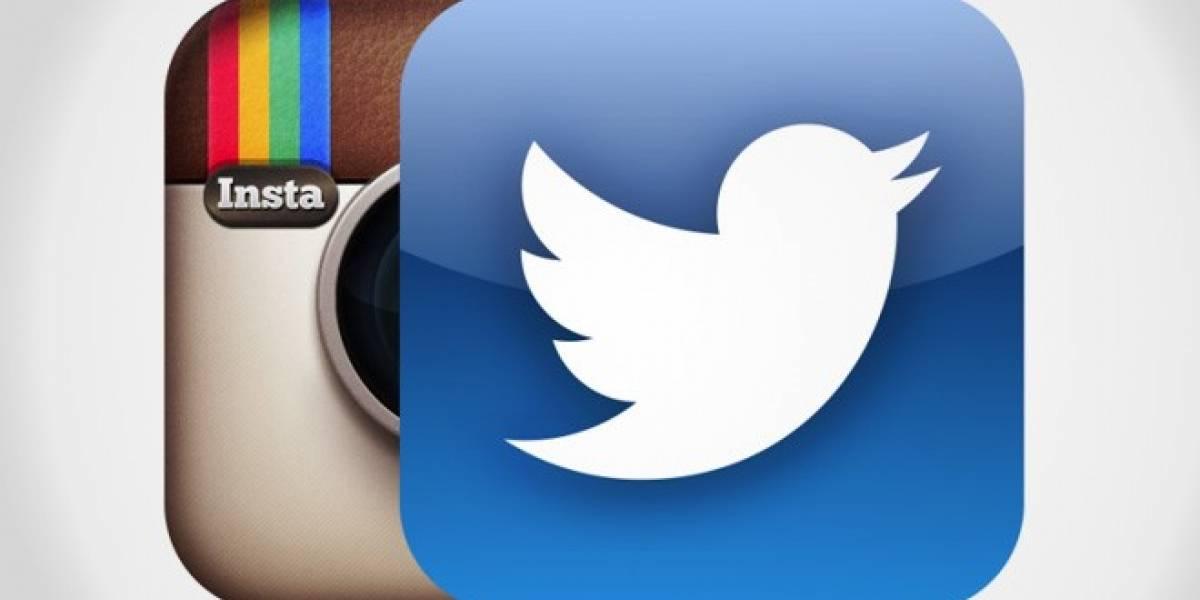 Instagram no permite que Twitter despliegue bien sus fotos
