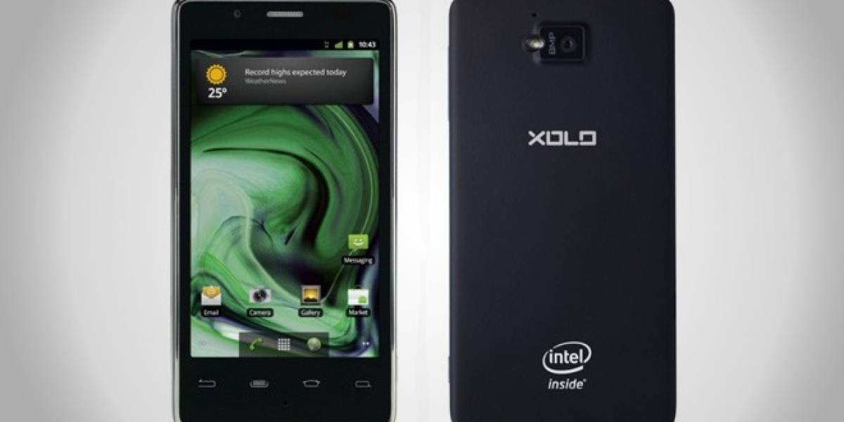 MWC12: Lanzan en India el Xolo X900 con Intel Medfield