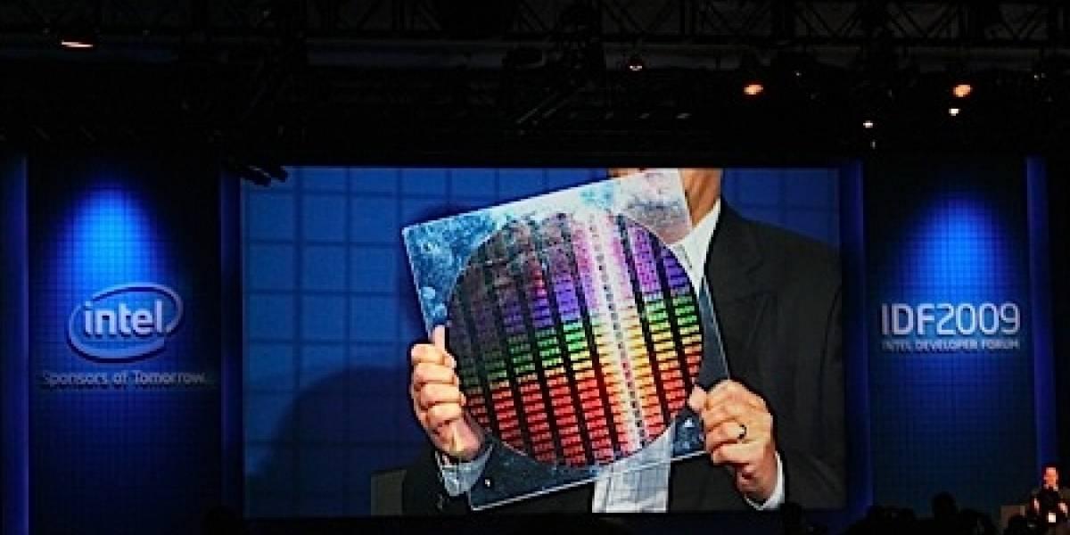 IDF09: Intel presenta oblea con chips en 22 nm