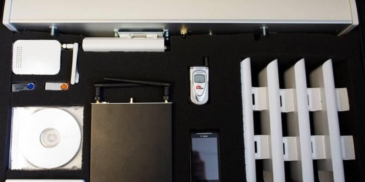 Una maleta para llevar Internet a cualquier parte
