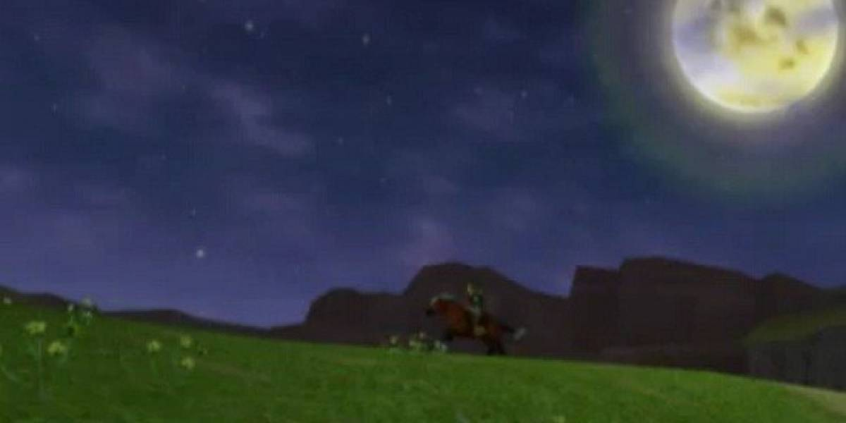 La intro de Ocarina of Time, versión Nintendo 3DS