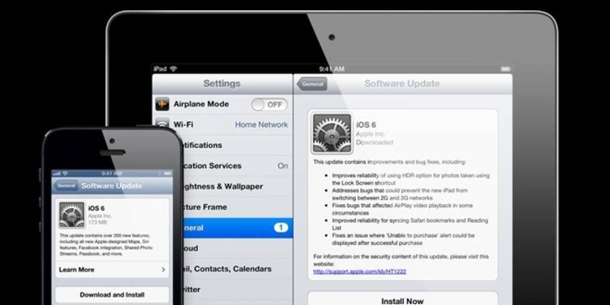 W Pregunta: ¿Qué te parecen los cambios en iOS 6?