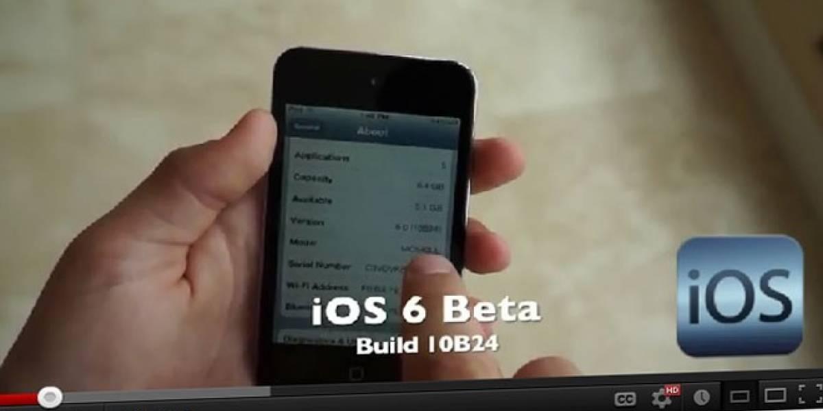 Se filtra vídeo que mostraría el iOS 6 en acción