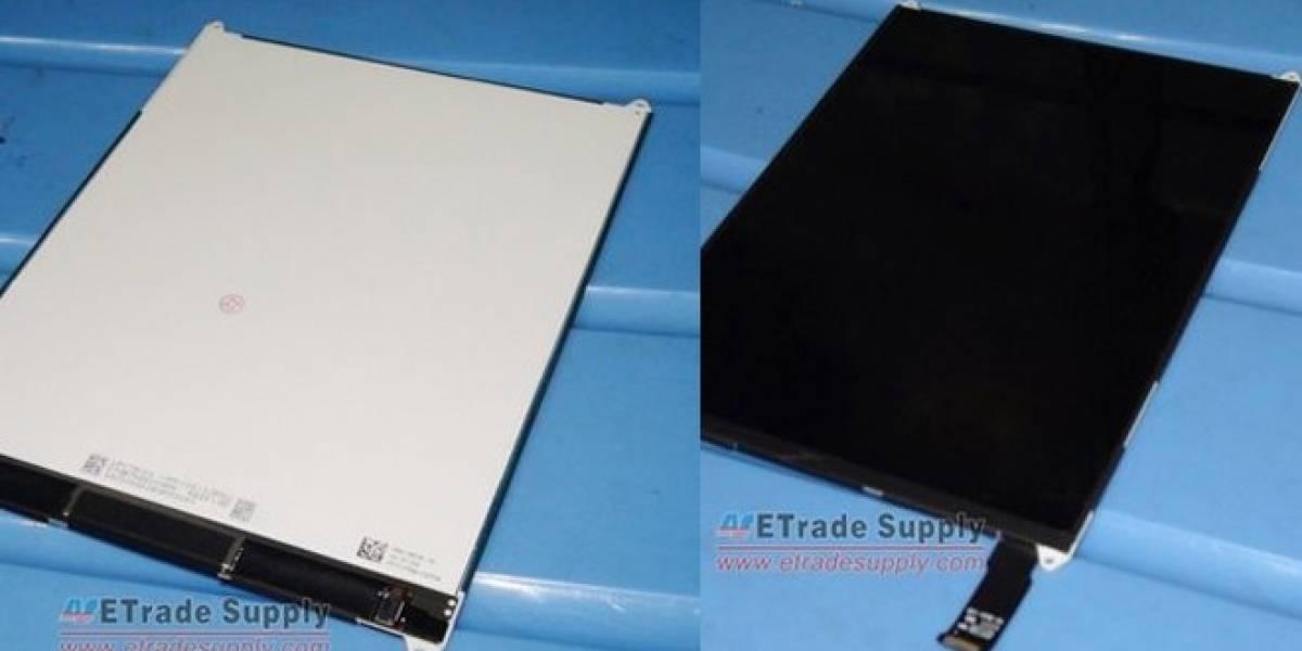 Filtran imágenes del que será el panel frontal del iPad Mini