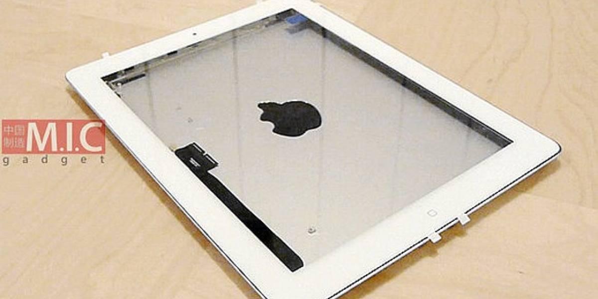 Vídeo que muestra los componentes del iPad 3
