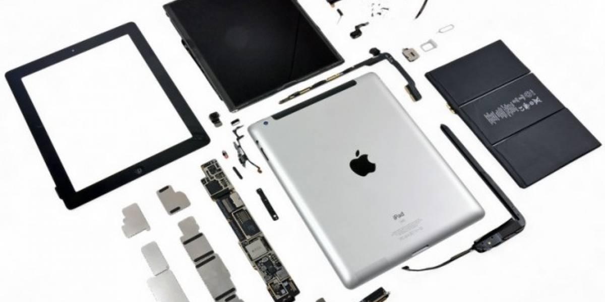 El nuevo iPad ya pasó por desarme mostrando su belleza interior