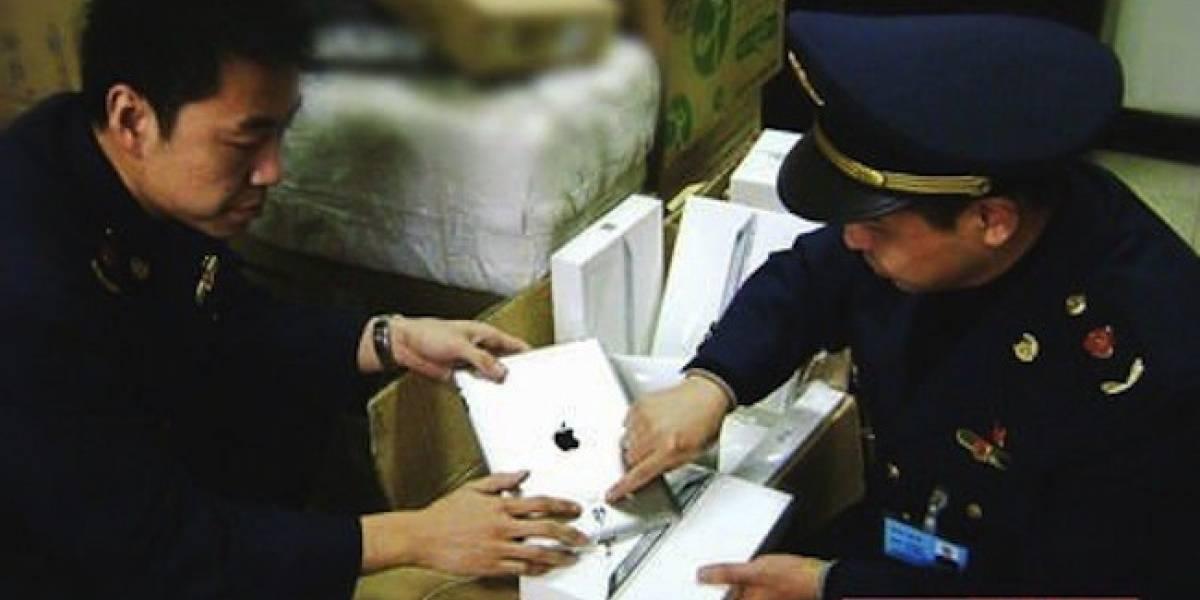 Autoridades confiscan 45 iPads en ciudad de China