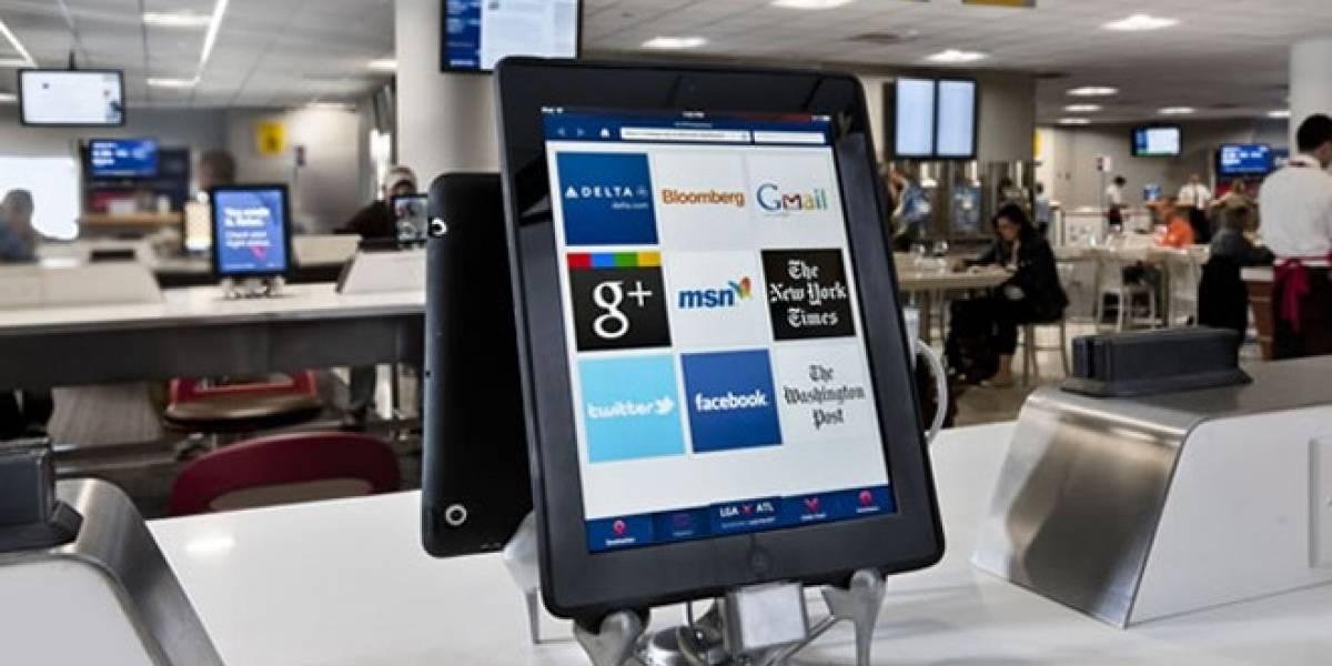 Empresa OTG Management instalará iPads en aeropuertos de EE.UU y Canadá