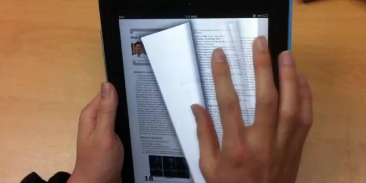 Una nueva forma de entender la interfaz de un lector de libros digitales