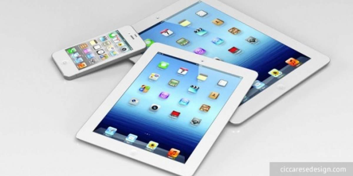 AllThingsD: Apple lanzará el iPad Mini durante Octubre