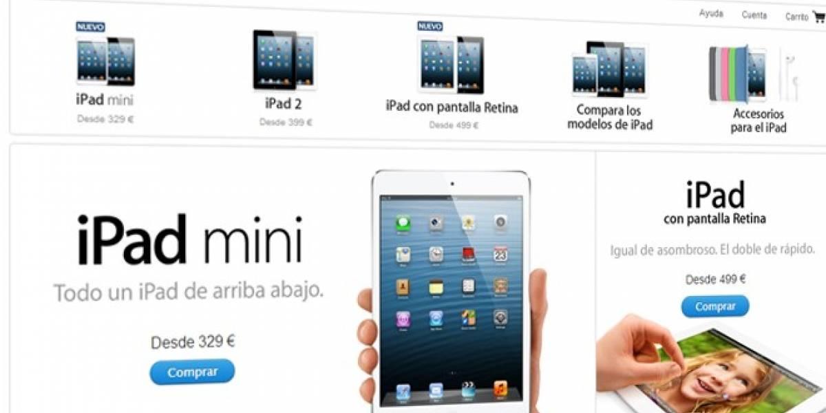 El iPad mini ya está a la venta