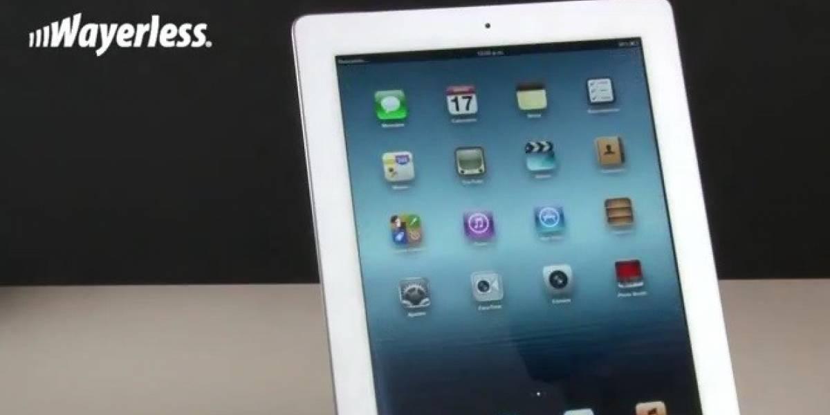 El nuevo iPad en 3 minutos y 40 segundos