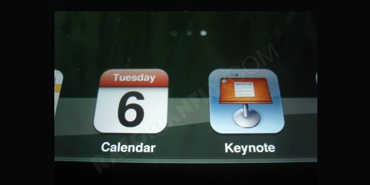 Imagen filtrada parecía confirmar pantalla de alta definición del nuevo iPad