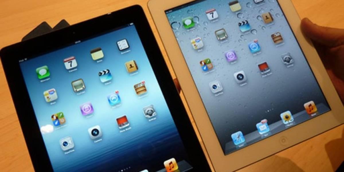 ¿Es el iPad 2 la única competencia en ventas del iPad 3?