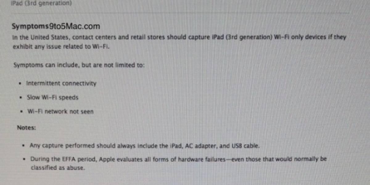 Apple está reemplazando unidades del nuevo iPad con problemas de Wi-Fi