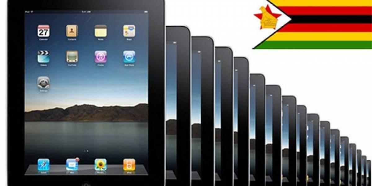 iPad solares para la educación en Zimbabue
