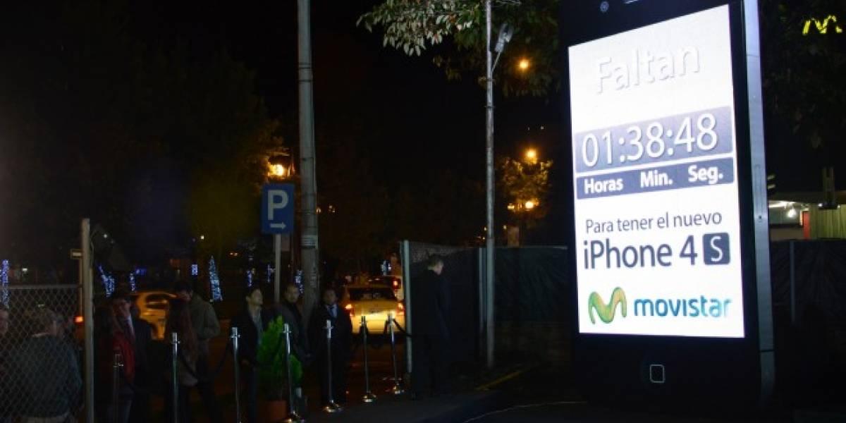 Colombia: Imágenes del lanzamiento del iPhone 4S
