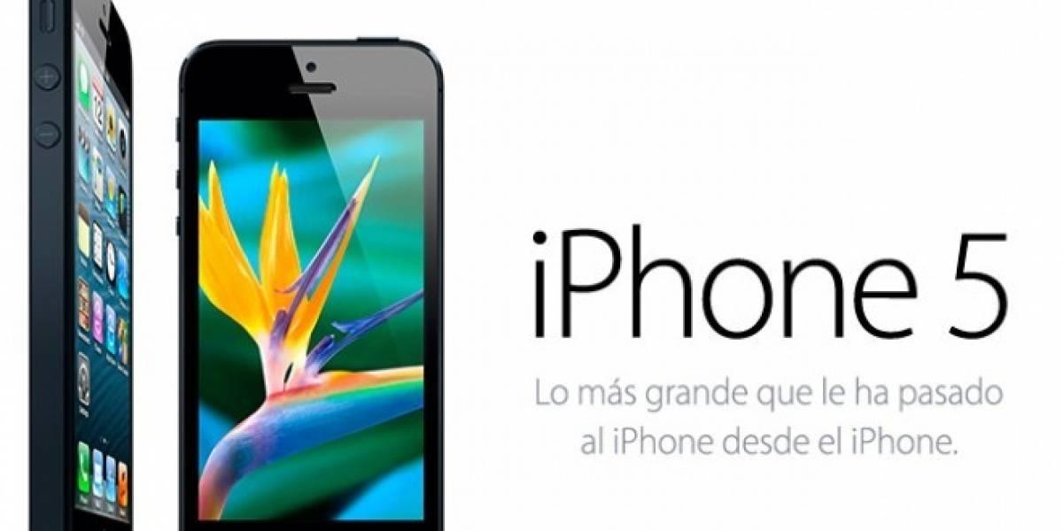 México: Estos son los precios y disponibilidad del iPhone 5 hasta ahora