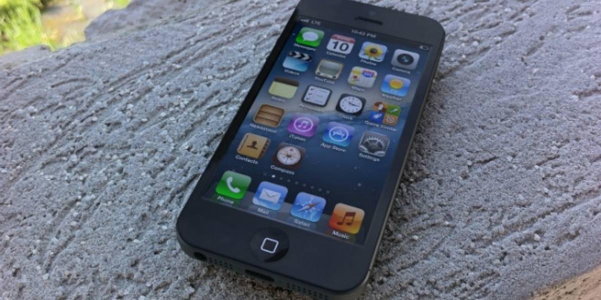 México: iPhone 5 llegará el 1 de noviembre, según indica distribuidora