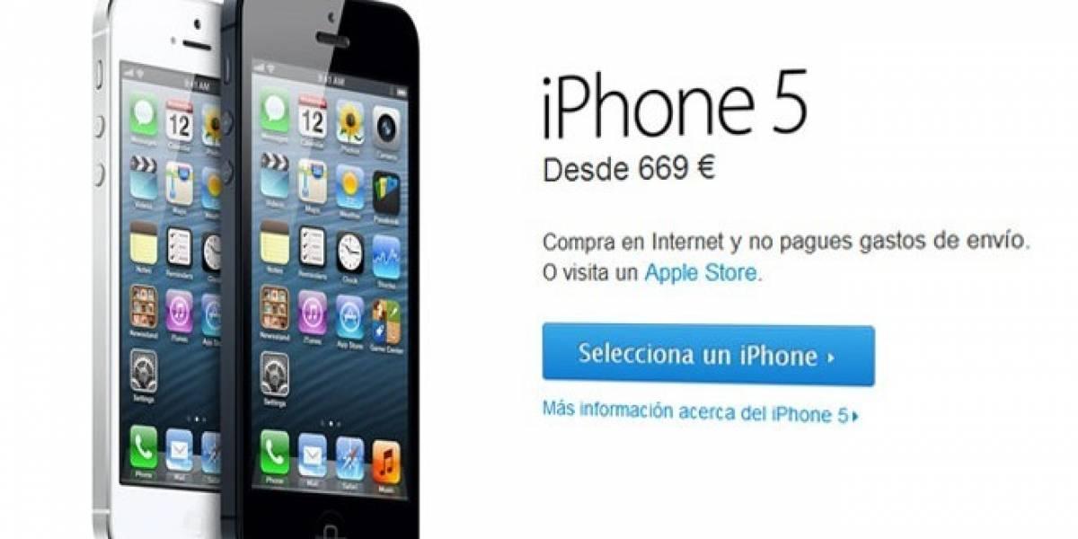 El iPhone 5 ya está en España