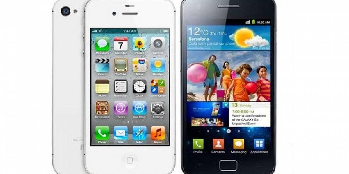 Apple vs Samsung: Ahora puedes ver la batalla de las patentes explicada