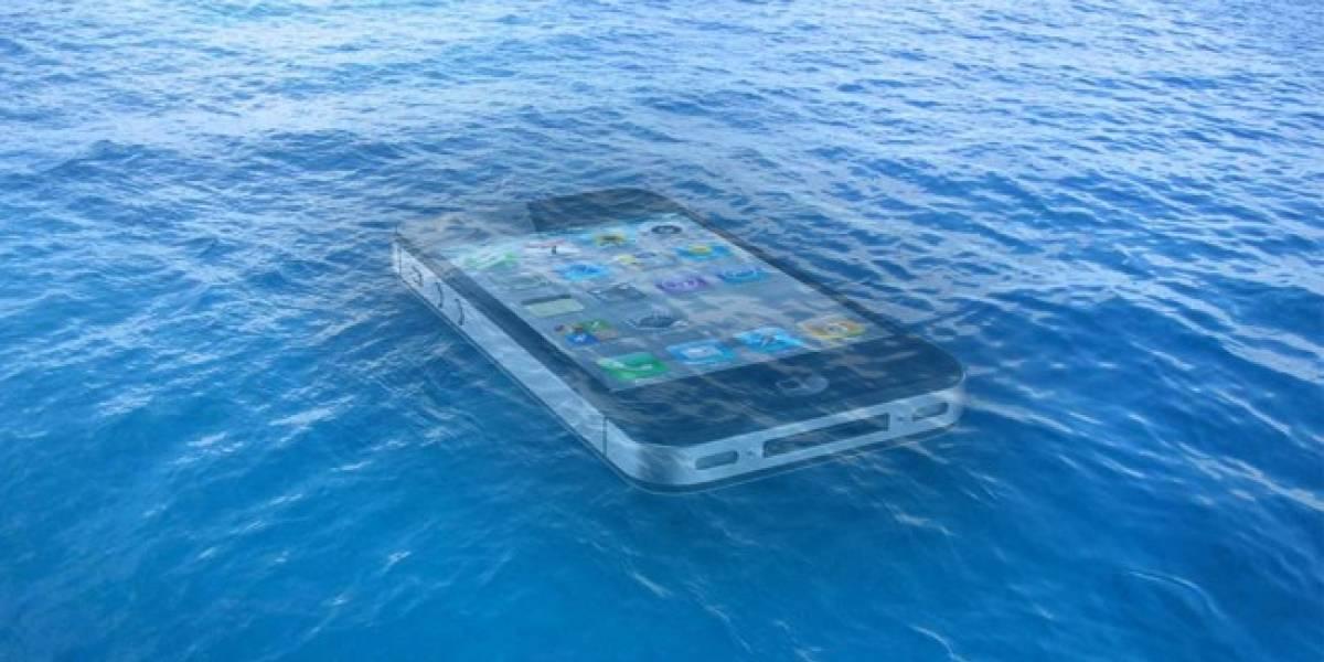 Un iPhone a prueba de agua