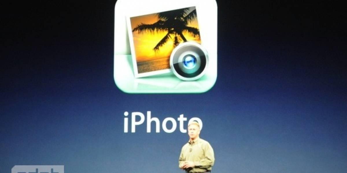 iPhoto para iOS (iPad) es anunciado oficialmente