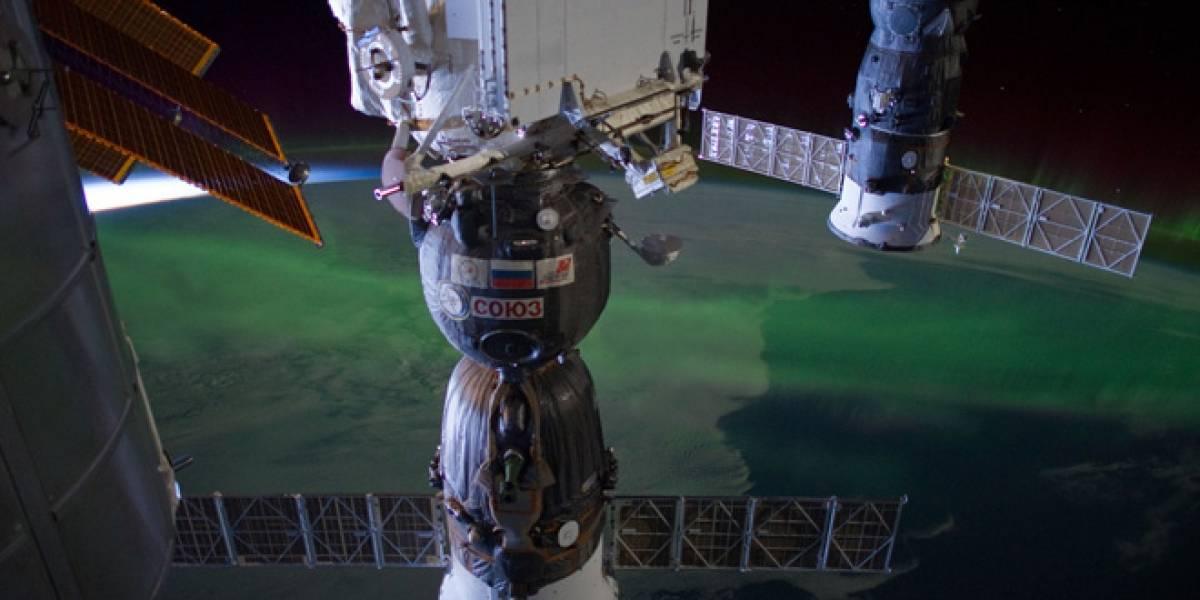 Esta es la fotografía un millón tomada a bordo de la Estación Espacial Internacional