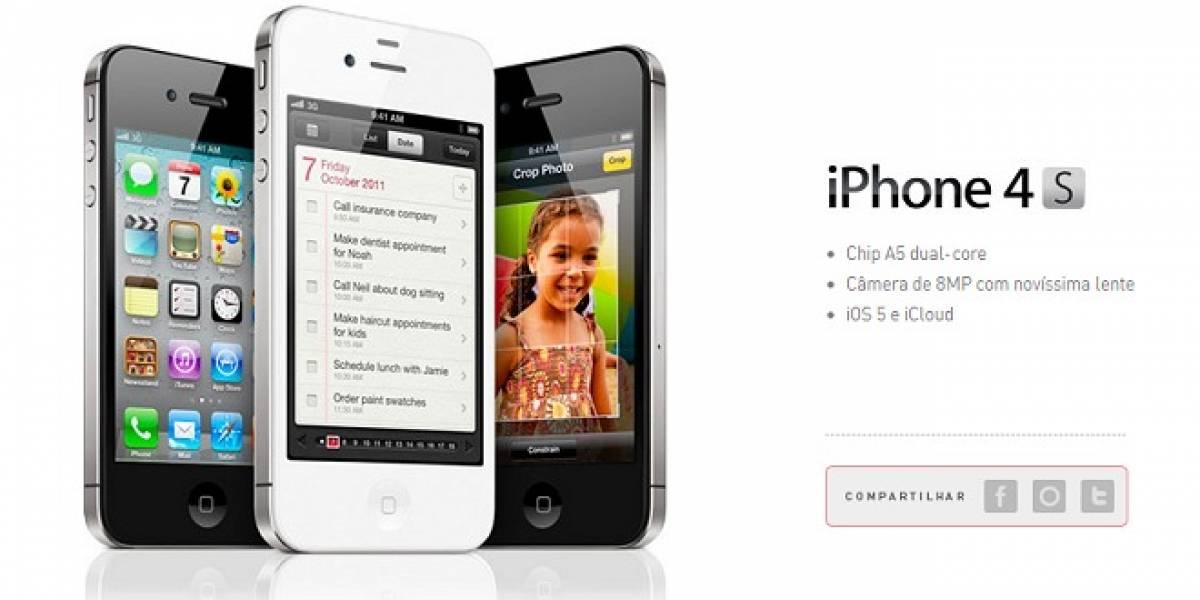 Brasil: Dos operadoras anuncian registro de los clientes interesados en comprar el iPhone 4S