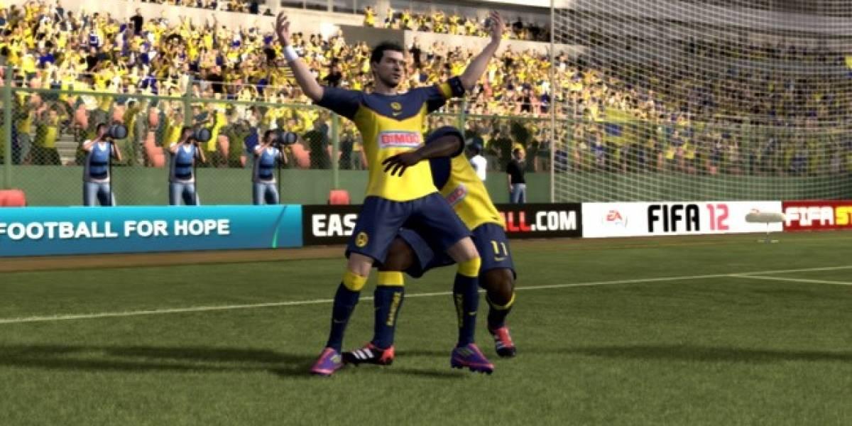 México: Simulación de la Jornada 5 del Clausura 2012 en FIFA 12