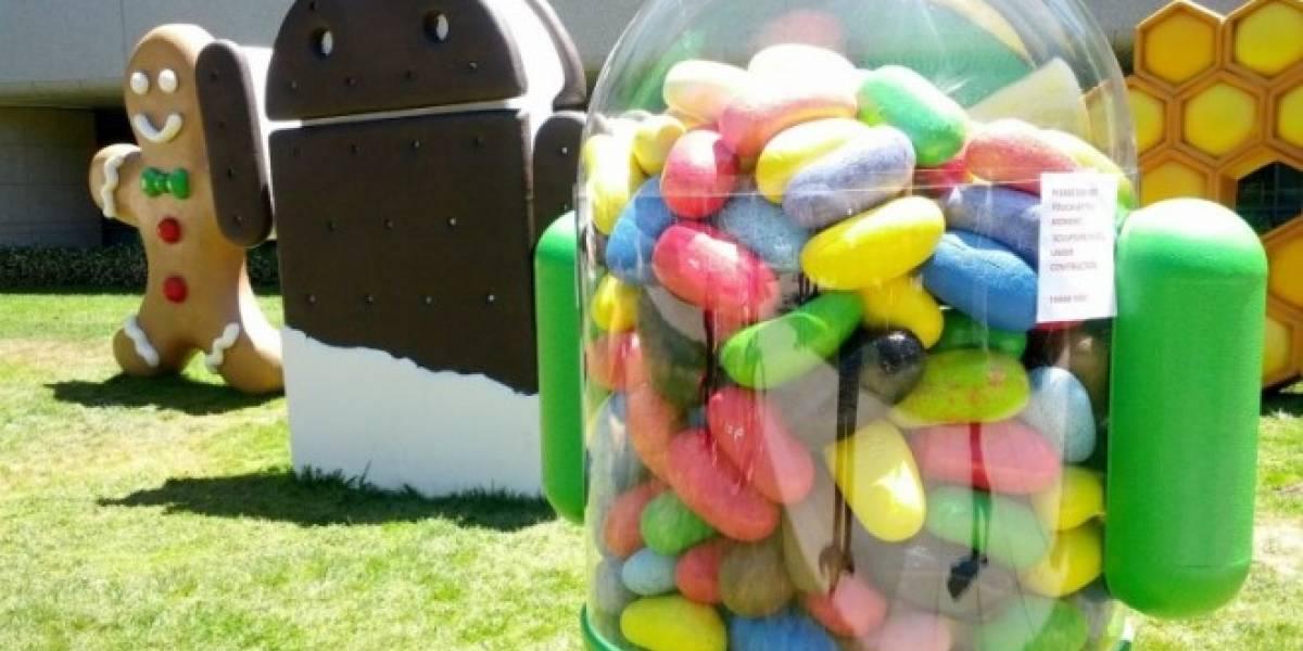 Google pone el código fuente de Android 4.1 Jelly Bean en AOSP