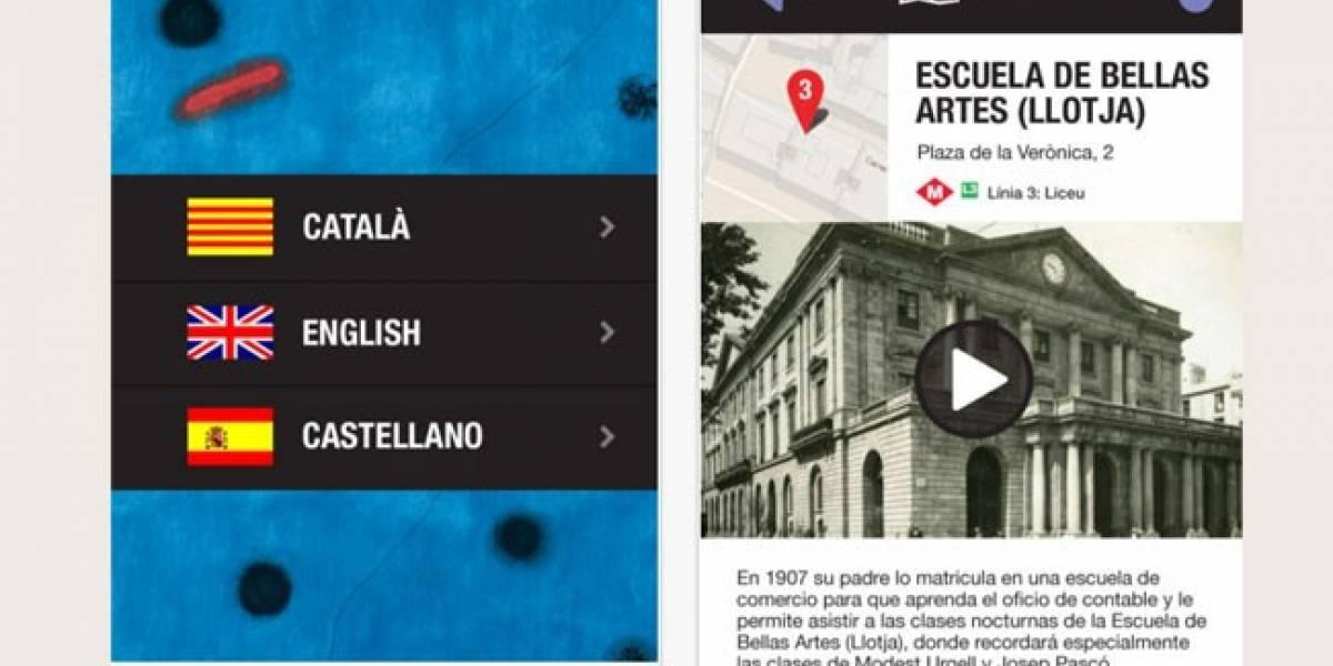 Admira la obra de Joan Miró desde tu dispositivo iOS
