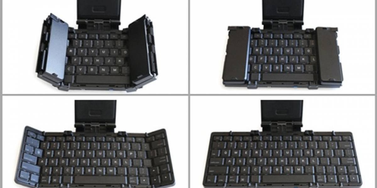 Jorno: El teclado plegable Bluetooth para dispositivos móviles
